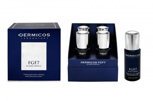 여성신문이 5월 독자 대상 이벤트로 더미코스 신제품 'FGF7 언더 스킨 케어 크림 &디에이징 앰플'을 선물한다.