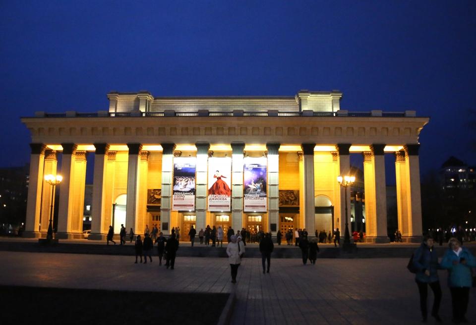 러시아 최대의 규모의 노보시비르스크 국립오페라 발레극장 ⓒ김경호