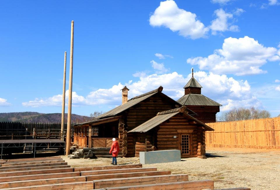 시베리아 원주민들의 주거형태를 재현해 놓은 딸지민속박물관 ⓒ김경호