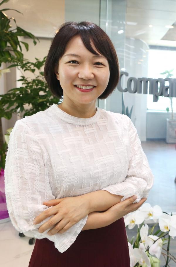 황유선 컴퍼니케이파트너스 부사장 ⓒ이정실 여성신문 사진기자