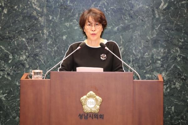 한선미 경기도 성남시의원 ⓒ한선미