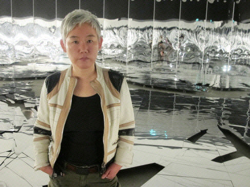 이불 현대미술작가가 '제29회 호암상 시상식'에서 예술상을 받았다. ⓒ국립현대미술관