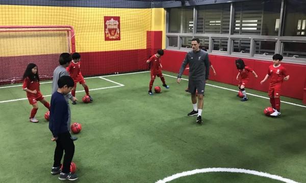 리버풀 FC 아카데미 코리아 교육 모습 © 리버풀 FC 아카데미