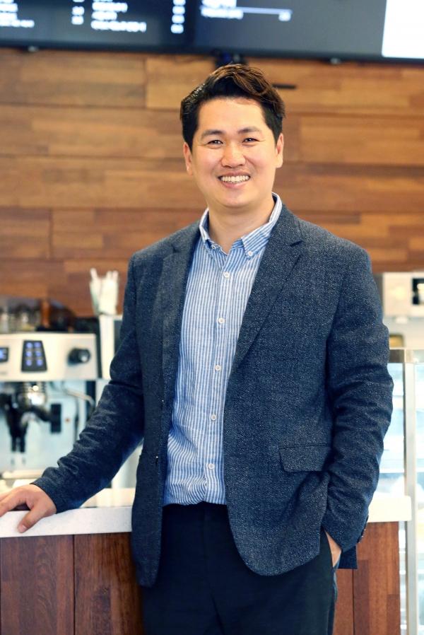 커피 프랜차이즈 '커피에 반하다' 임은성 대표 ⓒ이정실 여성신문 사진기자