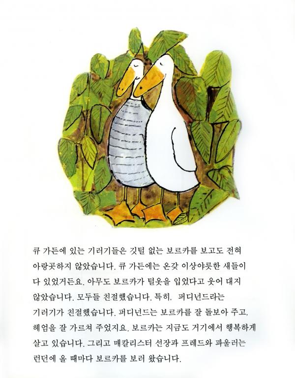 『깃털 없는 기러기 보르카』 존 버닝햄 글·그림  ©비룡소