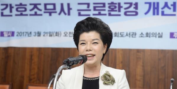 대한간호조무사협회 홍옥녀 회장 (사진은 해당 기사와 관련없음) ⓒ뉴시스·여성신문