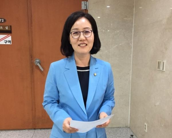 김현아 자유한국당 원내대변인 / 진주원 기자
