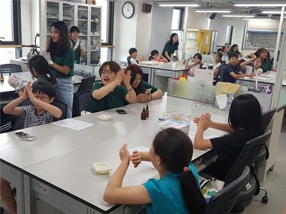 성북어린이 환경학교에 참여한 어린이들 ⓒ성북구