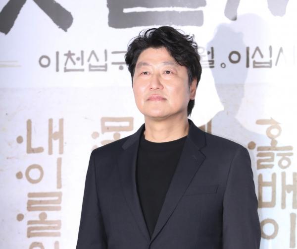 '나랏말싸미'에 출연한 배우 송강호. ⓒ뉴시스·여성신문