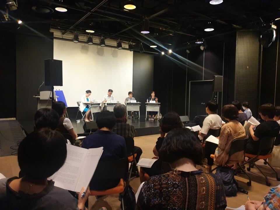 9일, 서울 시민청 바스락홀에서 여성·평화 토크쇼 '2030년 통일 한국의 모습: 여성과 청년이 기대하는 것은?'이 열렸다. ⓒ곽성경 사진기자