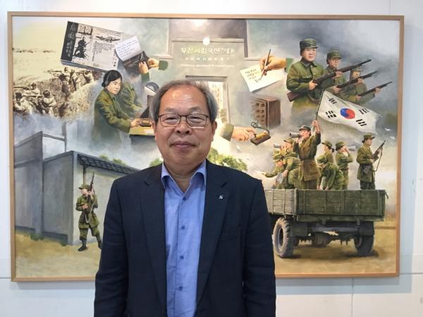이준식 독립기념관 관장 / 진주원 기자