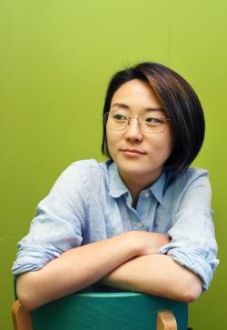 신지예 녹색당 서울시당 공동운영위원장 ⓒ이정실 여성신문 사진기자