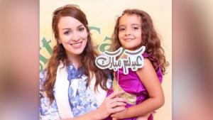 사우디아라비아 법원으로부터 딸 양육권을 박탈당한 미국 여성 베타니 비에라(32)와 그녀의 딸 자이나(4). ⓒCNN