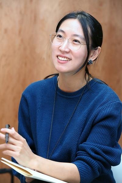 장혜영 감독 ⓒ이정실 여성신문 사진기자