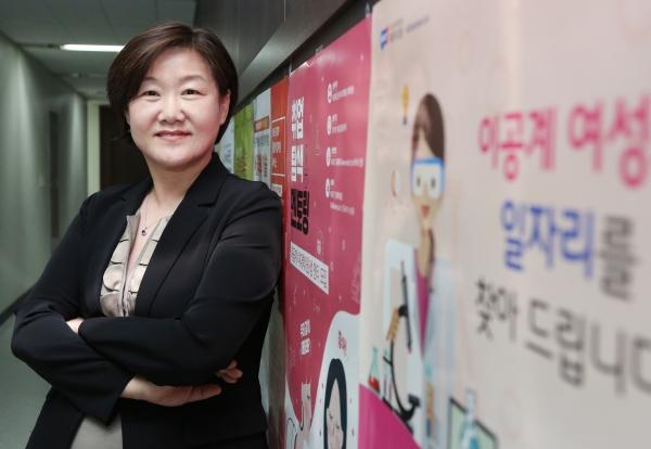 안혜연 한국여성과학기술인지원센터(WISET) 신임 소장 ⓒ이정실 여성신문 사진기자