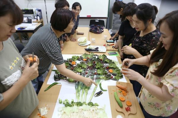도시농업전문가 양성과정 수업. ⓒ곽성경 여성신문 사진기자