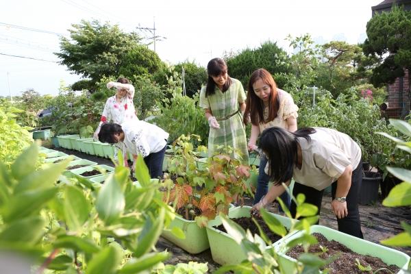 도시농업전문가 양성과정 수업.