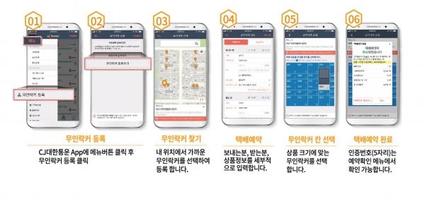 서울시는 CJ대한통운과 협력해 지자체 최초로 '보내는 여성안심택배'를 도입해 운영한다고 26일 밝혔다. '여성안심택배' 보내는 서비스 이용방법. ⓒ서울시