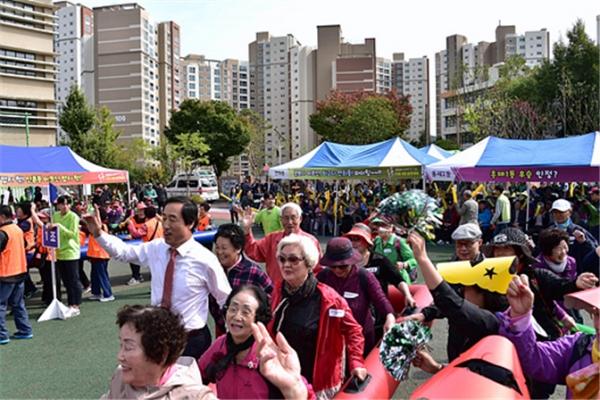 지난해 10월 열린 '서대문 화합 효 축제' 모습. ⓒ서대문구