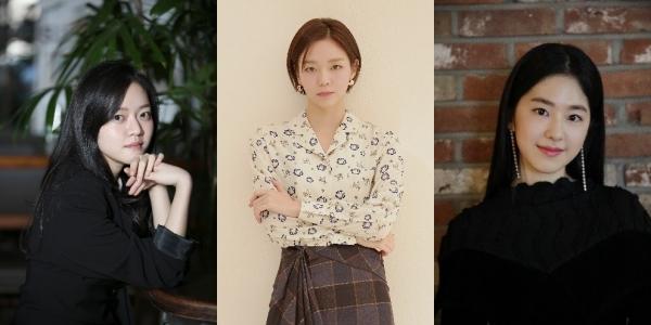 배우 고아성, 이솜, 박혜수. ⓒ롯데엔터테인먼트