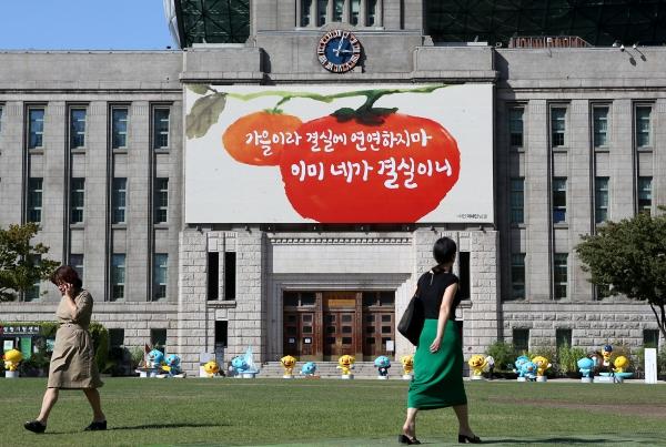 서울광장 꿈새김판 가을편