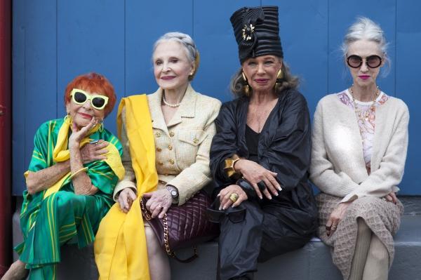 아르 세스 코헨 작가의 '어드밴스드 스타일'. 자신의 개성을 확연하게 드러낸 노인들의 사진을 담았다. ⓒ코리아나미술관
