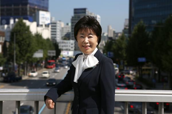 이민재 엠슨 대표. ⓒ곽성경 여성신문 사진기자