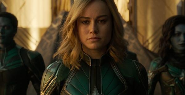 '캡틴 마블'은 개봉을 앞두고 주연 배우 브리 라슨이 자신을 페미니스트라고 밝히면서 일부 관객들에게 '평점 테러'를 당했다. 하지만 후속편과 이어진다는 점이 관객들은 영화를 찾았다. ⓒ월트디즈니컴퍼니코리아