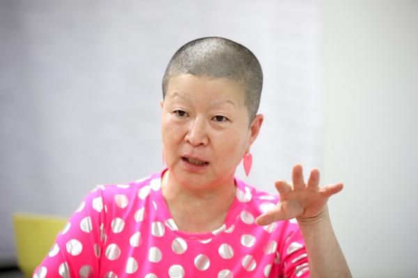 안은미 무용가 ⓒ곽성경 여성신문 사진기자