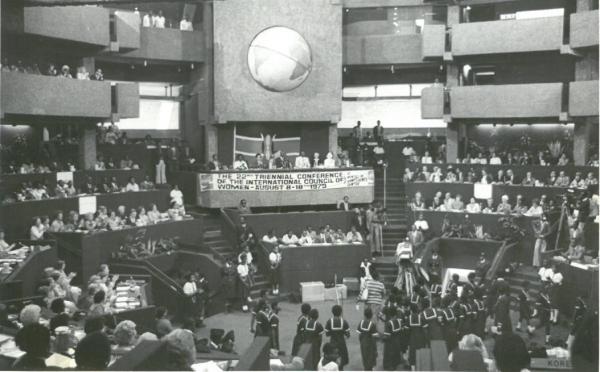 1979년 제22차 ICW 총회 참석 ⓒ한국여성단체협의회