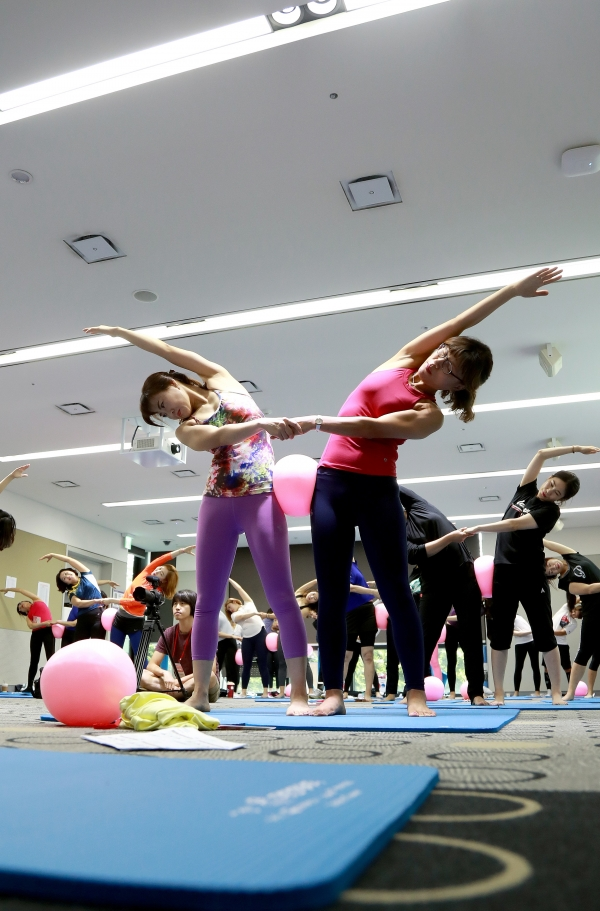 대한체육회는 생애주기별 여성 맞춤형 스포츠 교실 운영하고 있다. ⓒ대한체육회