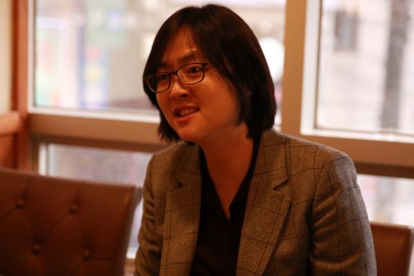 김동현 서울독립영화제 집행위원장은 지난해 영화제가 여성 서사 작품의 변곡점이 됐다는 것을 느꼈다고 했다. ⓒ서독제