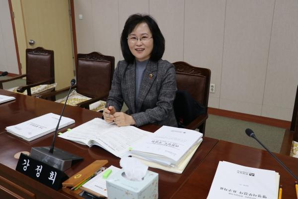 강정희 전남도의회 의원. 본인 제공.