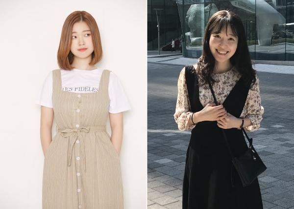 『우리가 빛의 속도로 갈 수 없다면』의 김초엽 작가와 『줄리아나 도쿄』의 한정현 작가가 2019 제43회 '오늘의 작가상'을 수상했다. ⓒ민음사