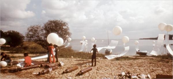 김순기, '조형상황 III – 보르도의 10월' (1973)