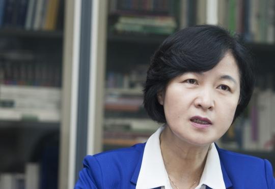 추미애 더불어민주당 대표 ⓒ이정실 여성신문 사진기자