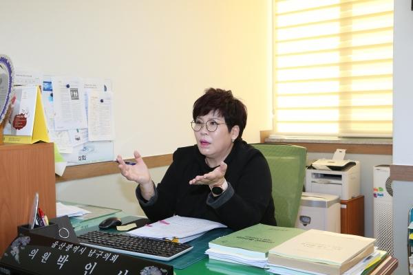 박인서 울산 남동구의회 의원. 본인 제공.