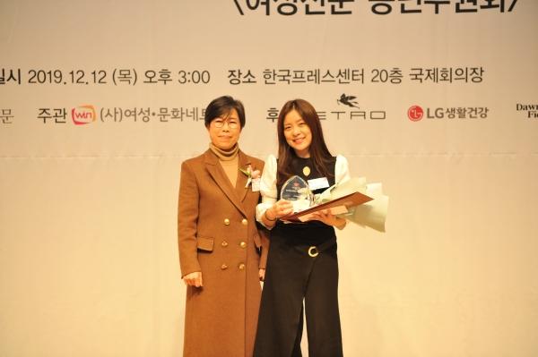허미숙 방송통신심의위원회 부위원장과 이슬예나 EBS PD