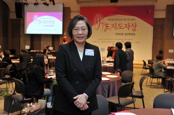 이수정 경기대 범죄심리학과 교수는 12일 오후 서울 중구 한국프레스센터에서 열린 '2019 제17회 미래를 이끌어갈 여성지도자상'(이하 미지상) 시상식에서 '2019 올해의 인물'로 선정됐다. ⓒ박정현 사진작가