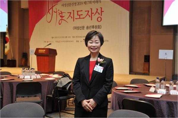 김혜숙 유한킴벌리 전무·지속가능경영부문 부문장 ⓒ여성신문