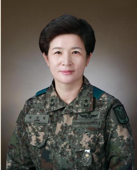 강선영 항공작전사령관 ©국방부