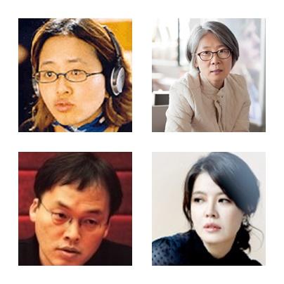 왼쪽부터 모지은, 김난숙, 김여진, 김영진. ⓒ문체부