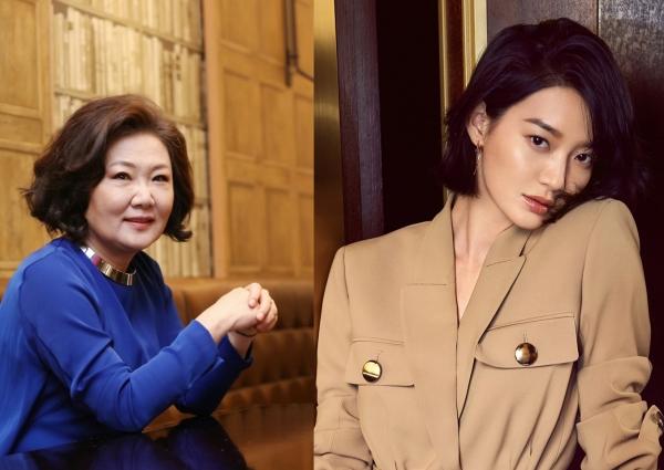 배우 김해숙과 신민아(왼쪽부터). ⓒ쇼박스