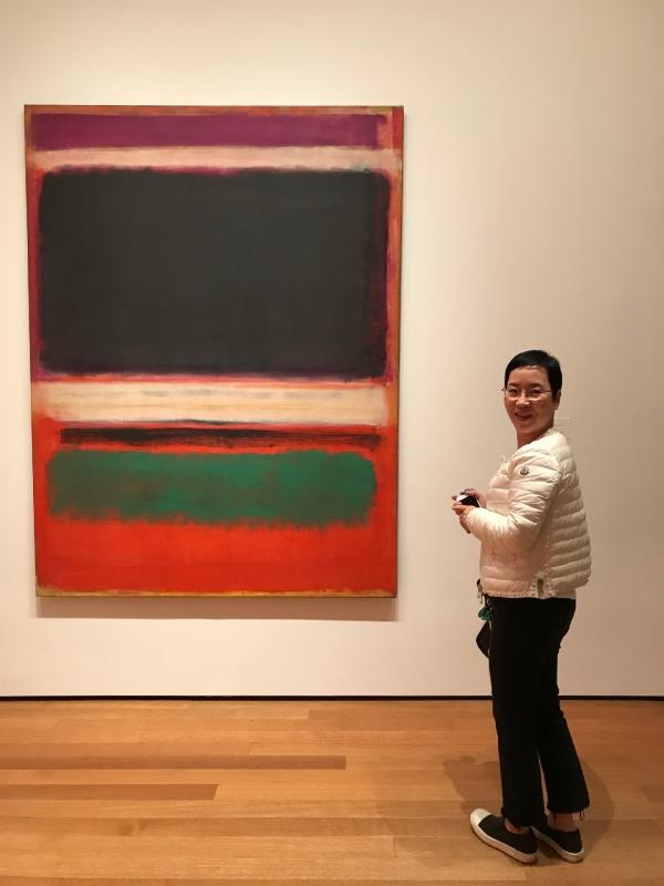 미국 뉴욕의 모마 미술관에서 김영일 『내가 열어본 조지아 오키프의 옷장』  ⓒ본인 제공
