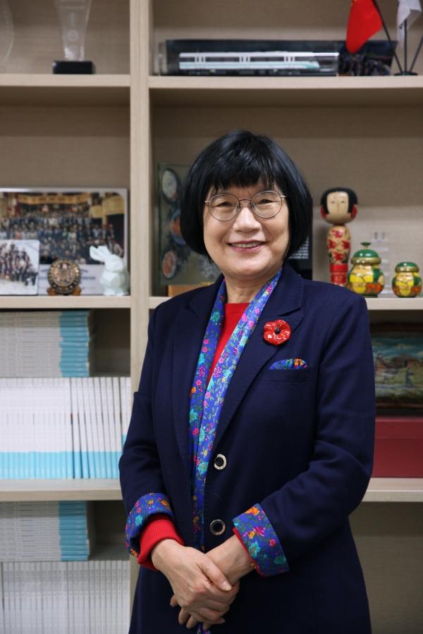 정희선 한국여성과학기술단체연합회 회장