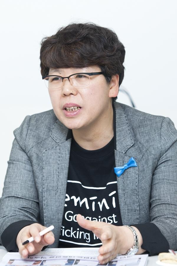 김영순 한국여성단체연합 공동대표 ⓒ이정실 여성신문 사진기자