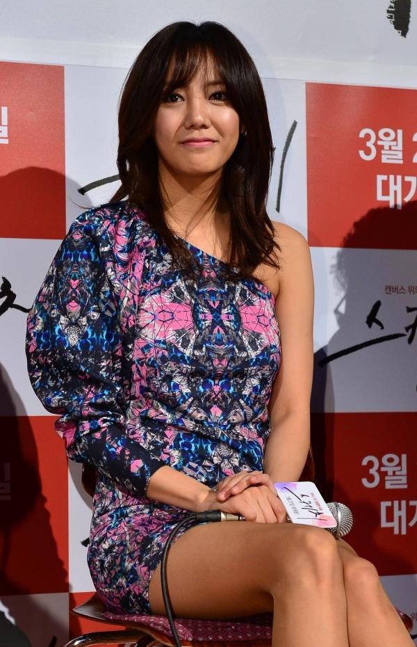 배우 고은아. ⓒ뉴시스·여성신문