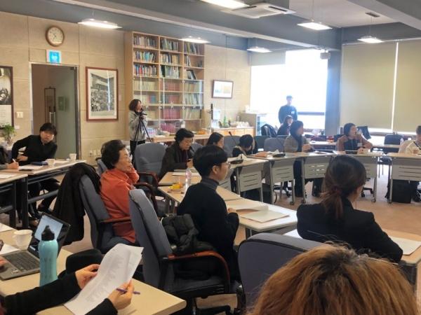 여성 정치 대표성을 제고하기 위한 '2020 여해여성포럼'이 1일 서울 종로구 대화의 집에서 열렸다.