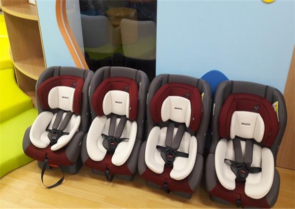 2019년 광진구 '안전카시트 대여사업'에 쓰인 영유아용 카시트ⓒ광진구