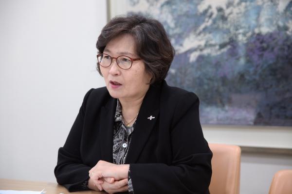 1월31일 문미란서울시정무부시장은 서울시청에서 여성신문과 인터뷰를 하고있다. ⓒ여신성문 홍수형 사진기자